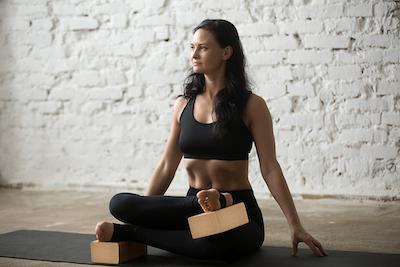 Gym by Nature - brique bloc de yoga en liège pour repousser ses limites
